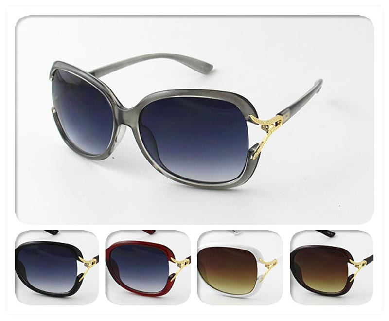 Ladies Tainted Fashion Sunglasses Wholesale
