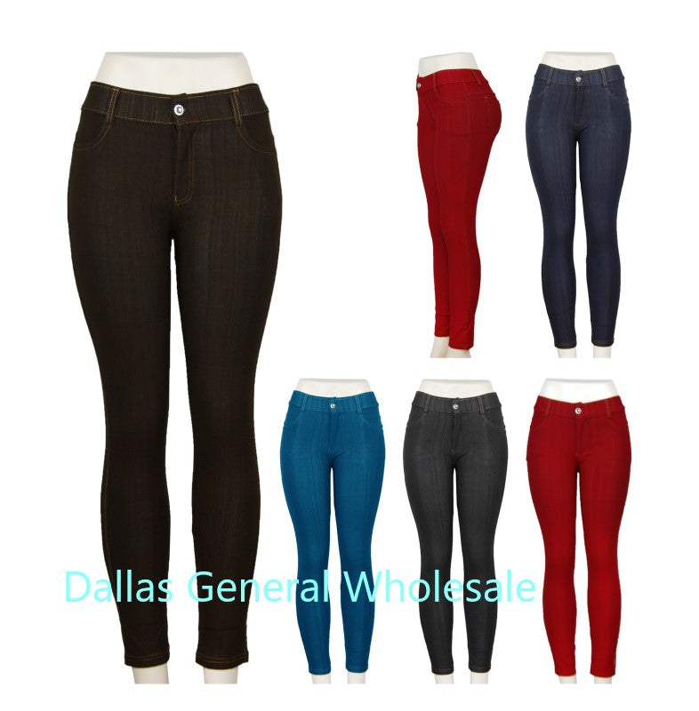 Girls Fashion Pull On Jeans Wholesale - Dallas General Wholesale
