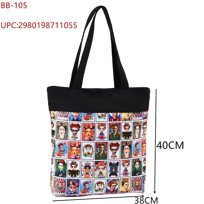 Cultural Printed Tote Bags Wholesale - Dallas General Wholesale