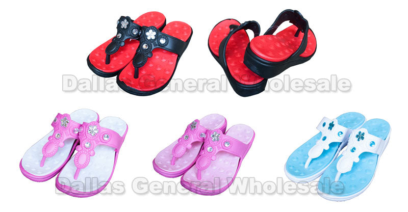 Ladies High Heel PVC Sandals Wholesale - Dallas General Wholesale