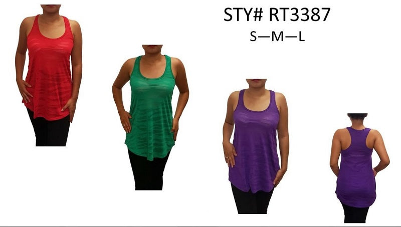 Girls Solid Color Casual Sleeveless Tops Wholesale - Dallas General Wholesale
