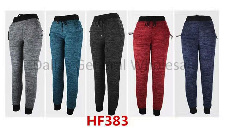 Ladies Fur Insulated Winter Jogger Pants Wholesale