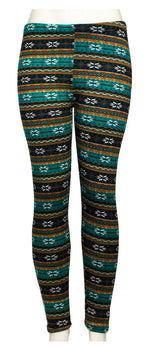 Girls Fashion Printed Thermal Fur Lining Leggings Wholesale - Dallas General Wholesale