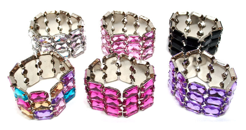 Ladies Fashion Crystal Beads Bracelet Wholesale - Dallas General Wholesale