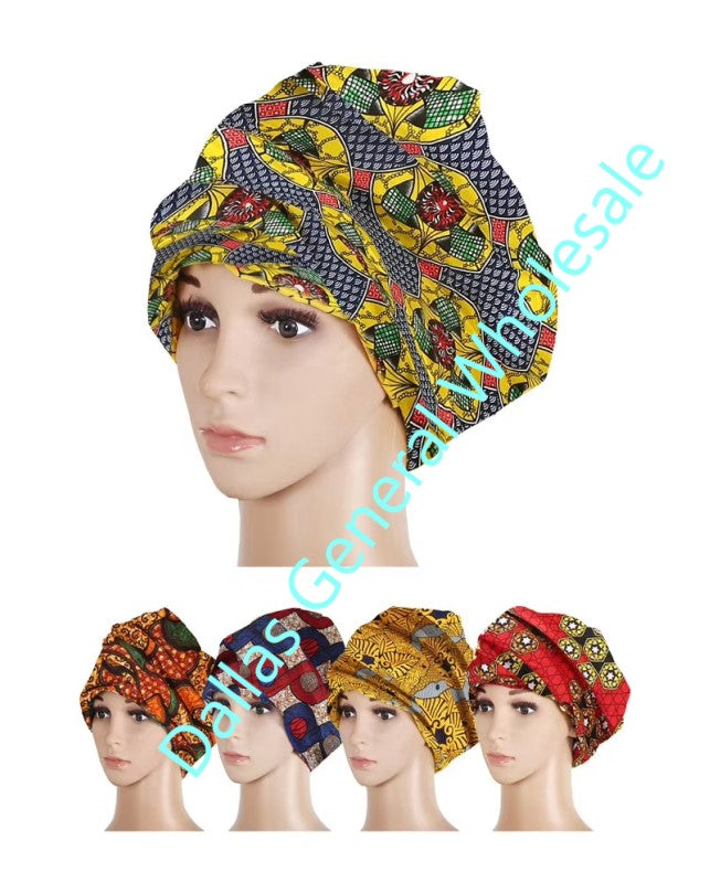 African Cultural Head Wraps Wholesale