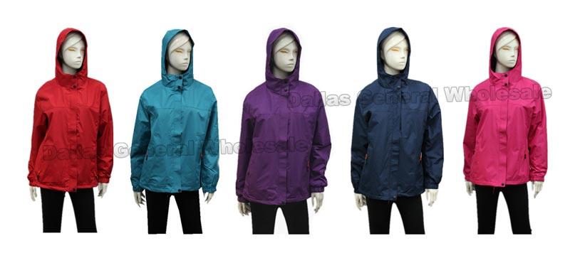 Women Casual Windbreakers Wholesale - Dallas General Wholesale