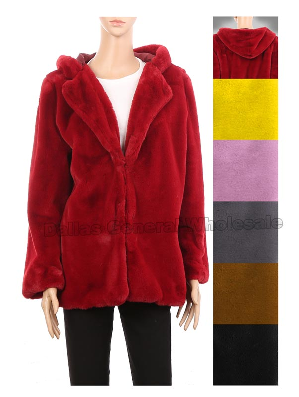 Ladies Fashion Fur Jackets Wholesale - Dallas General Wholesale