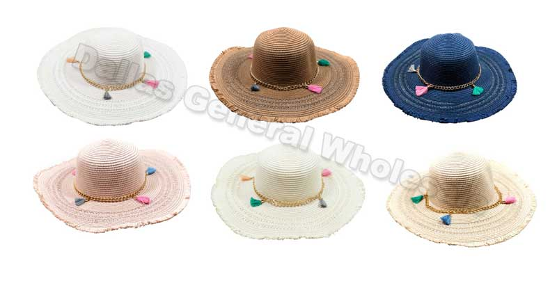 Floppy Straw Beach Hats Wholesale - Dallas General Wholesale