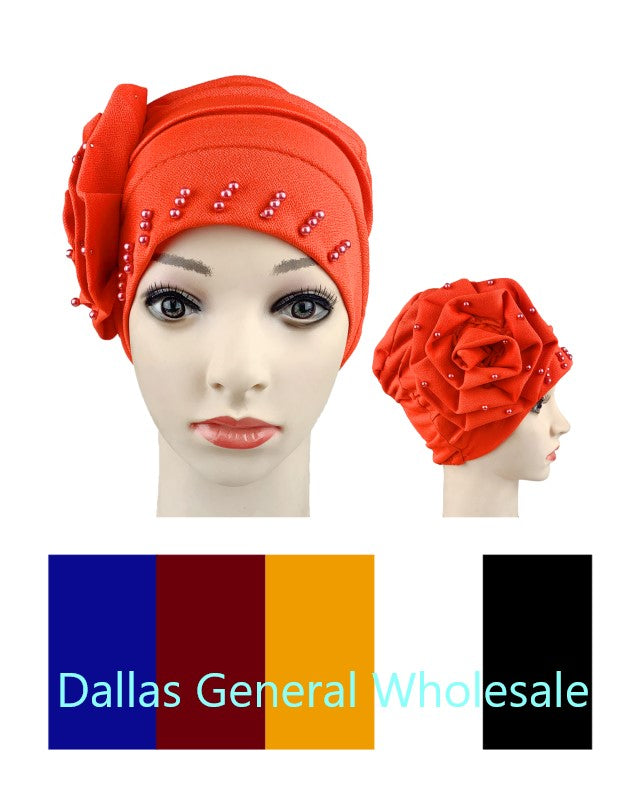 Flower Chemo Head Wrap Hats Wholesale