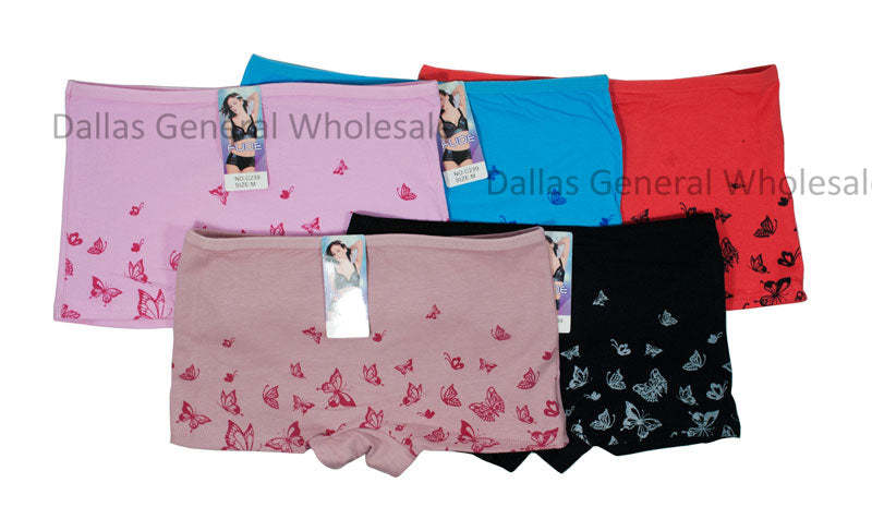 Cute Butterfly Casual Boyshorts Wholesale