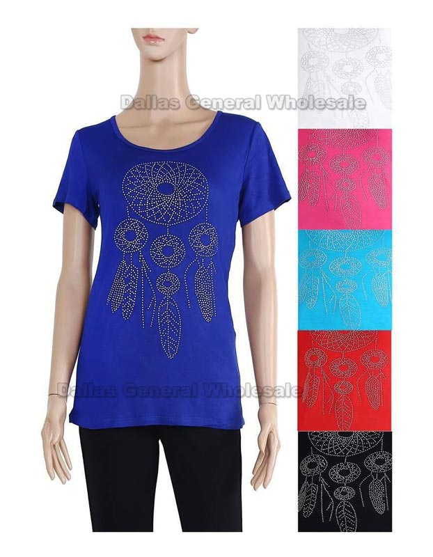 Ladies Dream Catcher Short Sleeve Tshirts Wholesale
