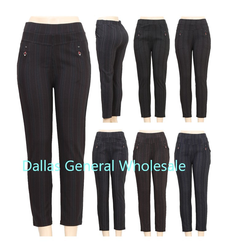 Ladies Fashion Trousers Wholesale - Dallas General Wholesale