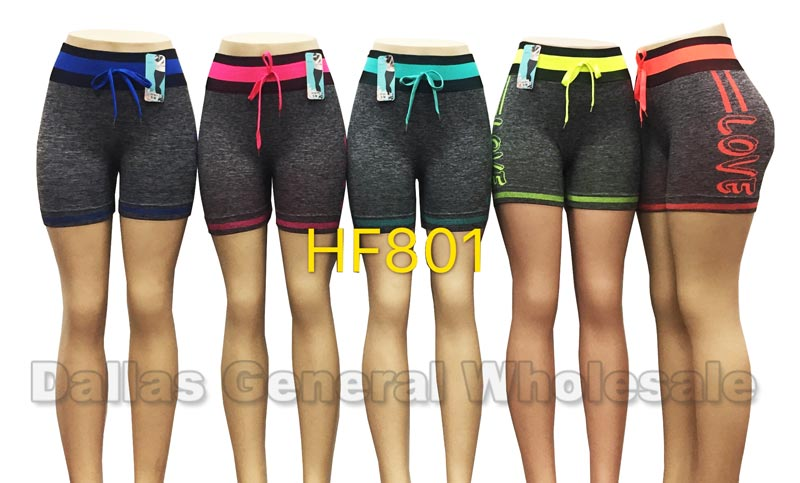 Girls Active Bermuda Stretchy Shorts Wholesale
