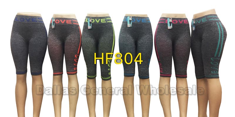Active Stretchy Capris Leggings Wholesale