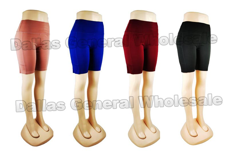 Active Bermuda Capris with Pockets Wholesale - Dallas General Wholesale
