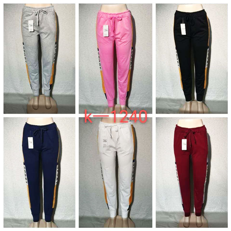 Girls Sports Sweat Pants Wholesale