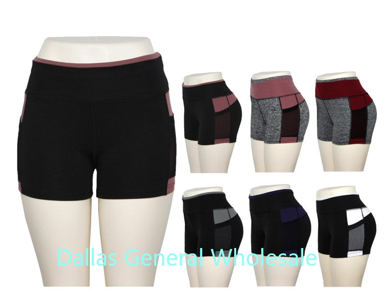 Active Work Out Shorts Wholesale