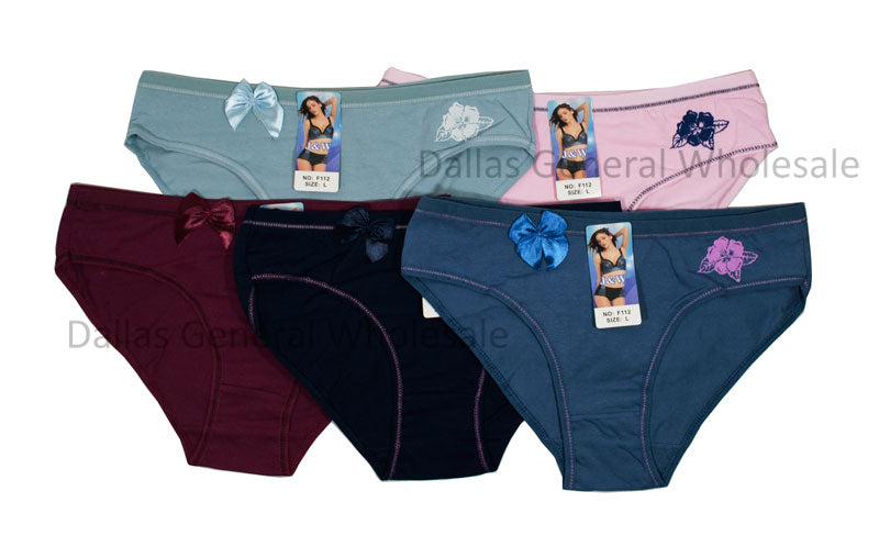 Girls Casual Solid Color Panties Wholesale