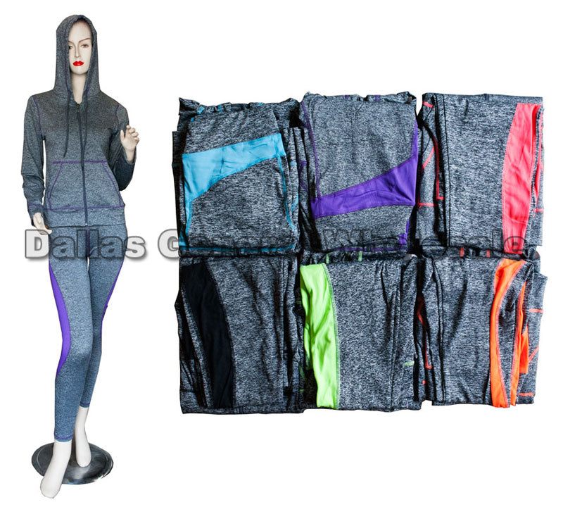Active Long Sleeve Top with Pants Set Wholesale - Dallas General Wholesale