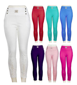 Ladies Fashion Pull On Pants Wholesale - Dallas General Wholesale