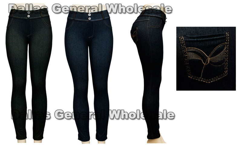 Ladies Fashion Pull On Jeggings Wholesale - Dallas General Wholesale