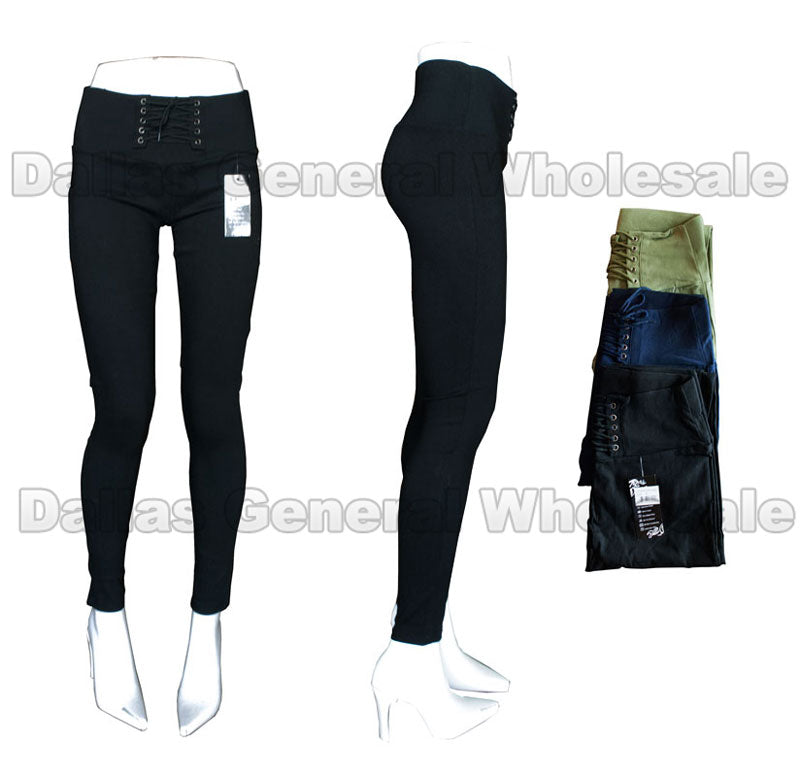 Girls Pull On Skinny Pants Wholesale - Dallas General Wholesale