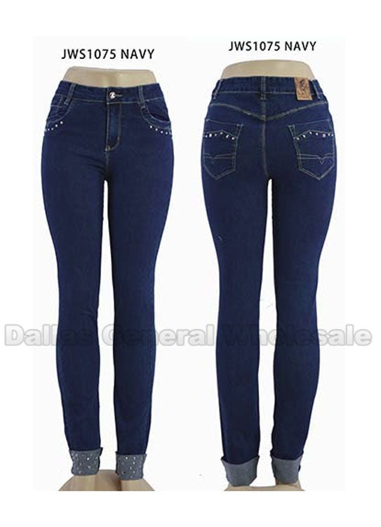 Trendy Ladies Skinny Jeans Wholesale - Dallas General Wholesale
