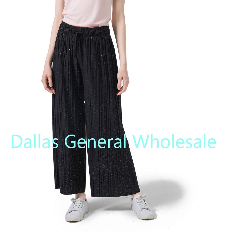 Ladies Fashion Palazzo Pants Wholesale - Dallas General Wholesale