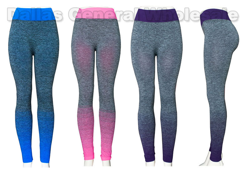 Ladies Active Yoga Leggings Wholesale - Dallas General Wholesale