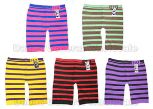 Ladies Elastic Capris Leggings Wholesale - Dallas General Wholesale