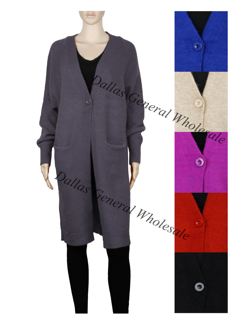Ladies Fashion Sweater Cardigans Wholesale