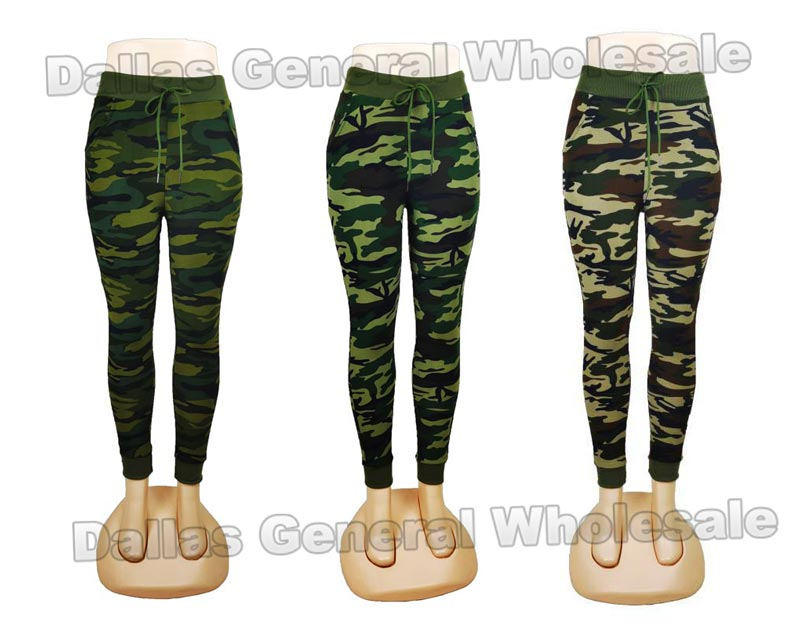 Girls Camouflage Jogger Pants Wholesale - Dallas General Wholesale