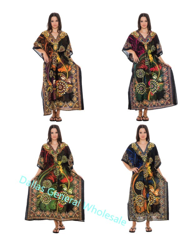 Long African Kaftan Summer Dresses Wholesale - Dallas General Wholesale