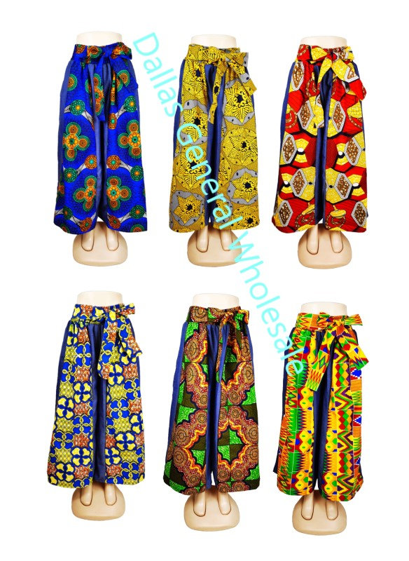 Ladies Dashiki Palazzo Pants Wholesale - Dallas General Wholesale