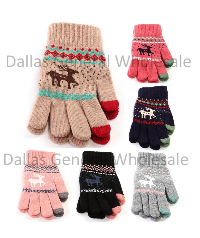 Ladies Cute Insulated Winter Gloves Wholesale