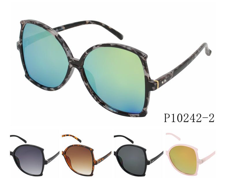 Oversize Mirror Lenses Sunglasses Wholesale - Dallas General Wholesale