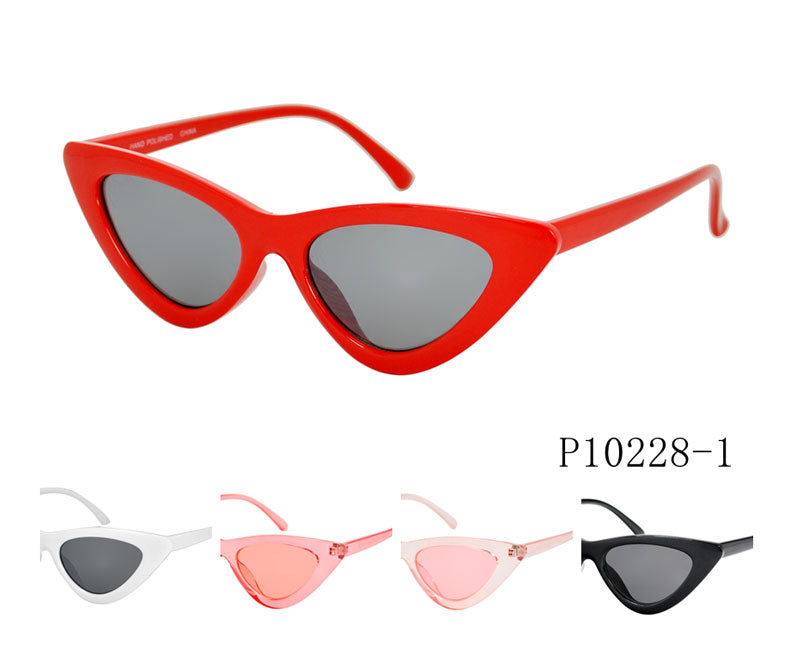 Ladies Retro Cat Eye Sunglasses Wholesale - Dallas General Wholesale