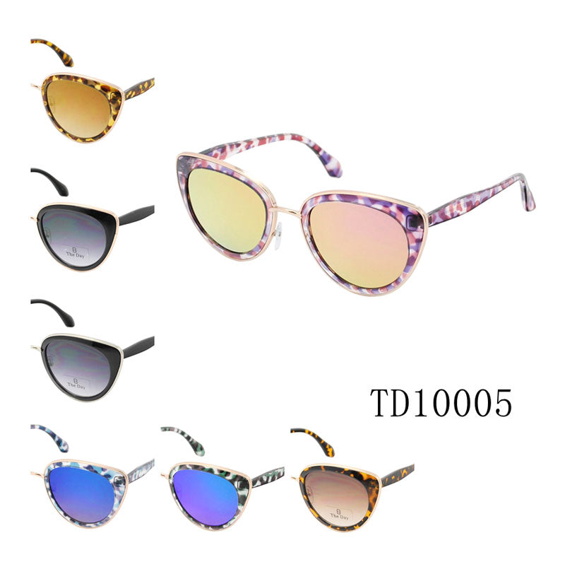 Ladies Trendy Cat Eye Sunglasses Wholesale - Dallas General Wholesale