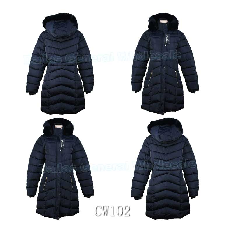 Women Padded Outwear Jackets Wholesale - Dallas General Wholesale
