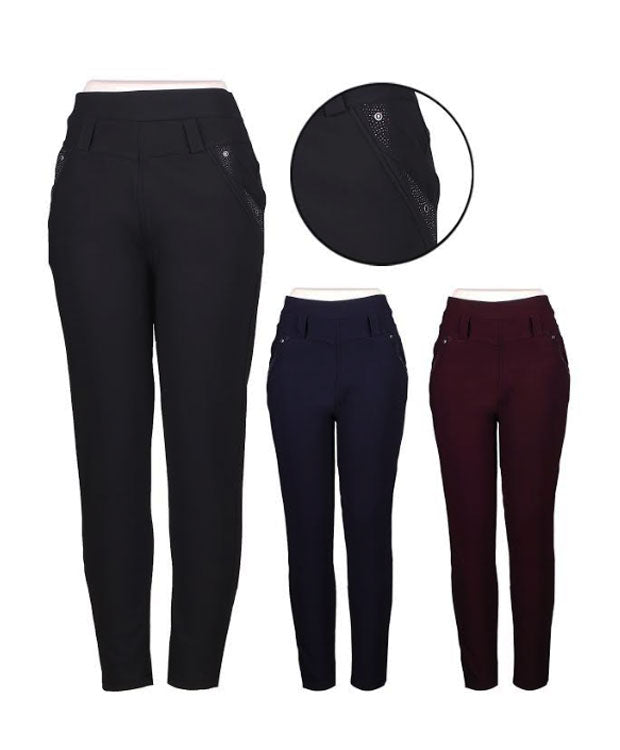 Ladies Fleece Insulated Thermal Pants Wholesale - Dallas General Wholesale