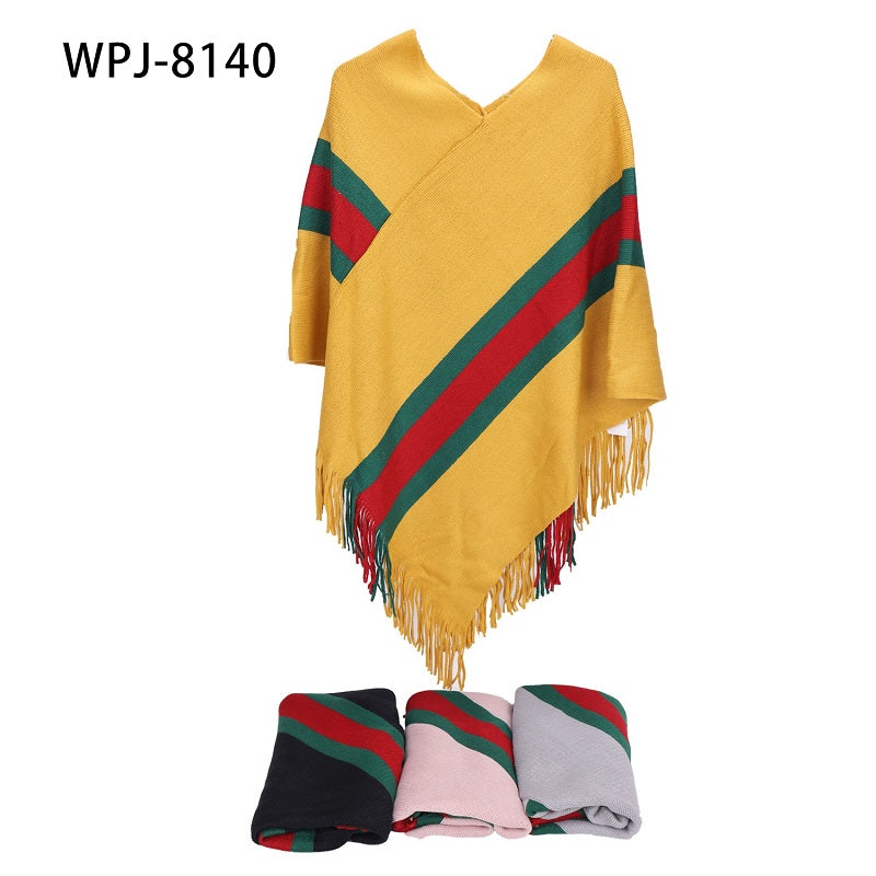Women Sweater Ponchos Wholesale - Dallas General Wholesale