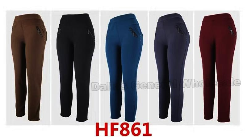 Ladies Fur Insulated Thermal Pants Wholesale - Dallas General Wholesale