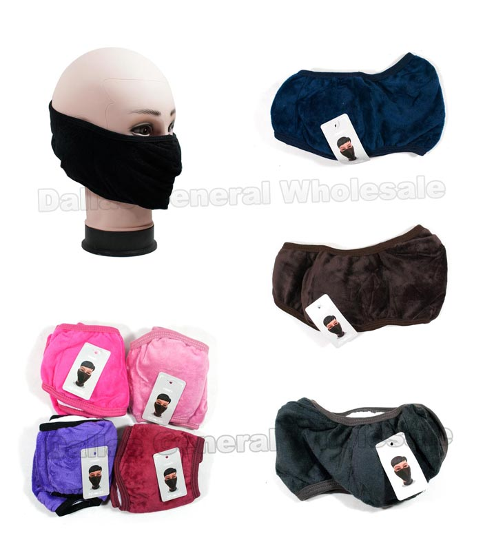 2-In-1 Padded Earmuff Masks Wholesale - Dallas General Wholesale
