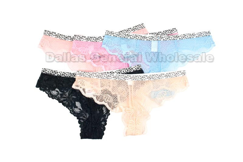 Ladies Sexy Lacy Thongs Wholesale - Dallas General Wholesale