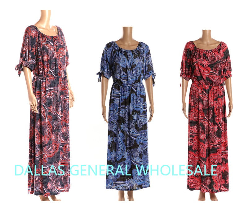 Plus Size Maxi Dresses Wholesale - Dallas General Wholesale