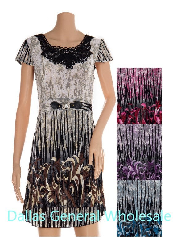 Women Casual Short Dresses Wholesale