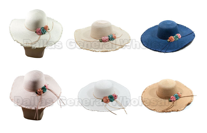 Fashion Floppy Beach Hats Wholesale - Dallas General Wholesale