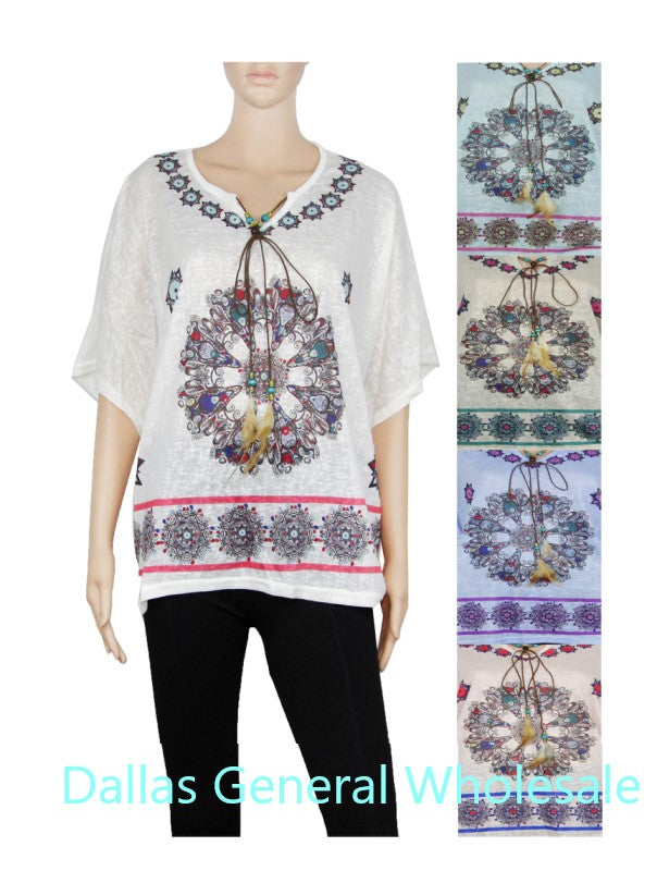 Western Style Blouses Wholesale
