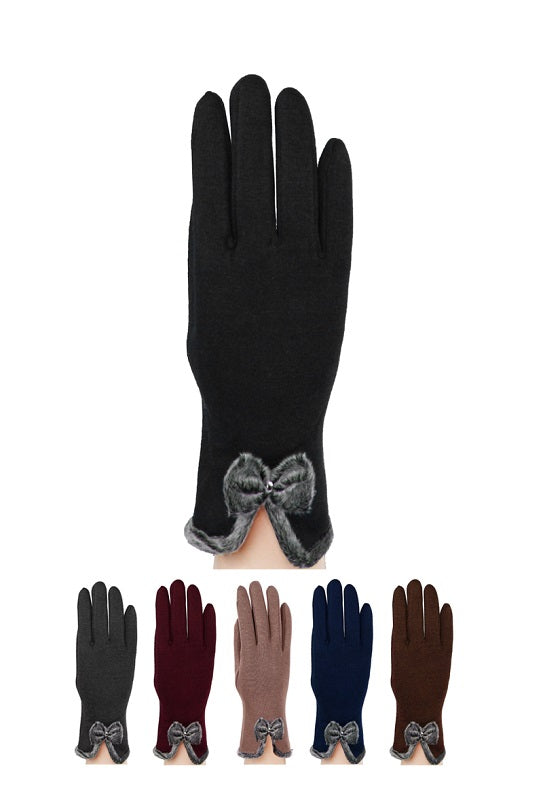 Ladies Winter Fashion Gloves Wholesale - Dallas General Wholesale