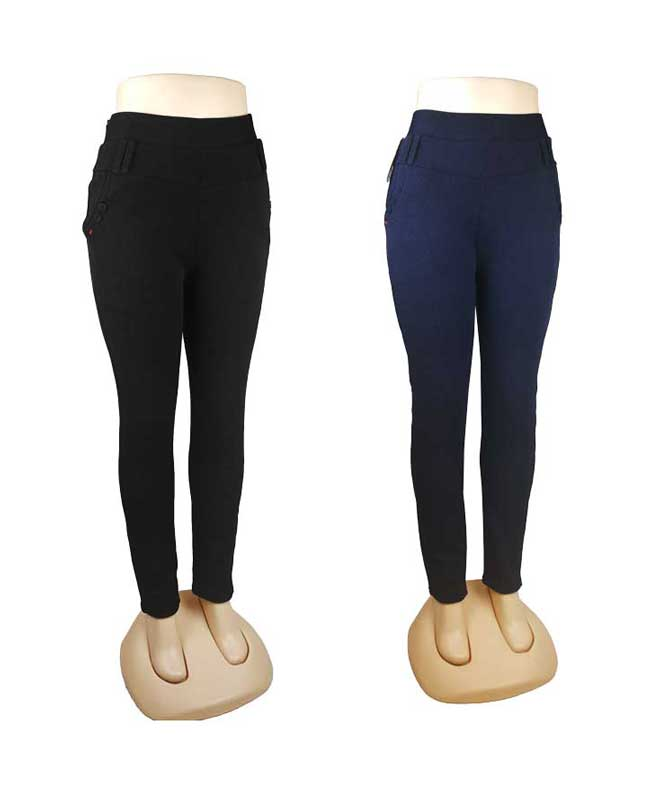 Ladies Thermal High Waist Trouser Pants Wholesale - Dallas General Wholesale